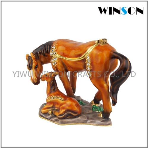 Horse Jewelry Box Best Crystals Horse Pewter Jewelry Boxhorse Shape Trinket Boxdressing