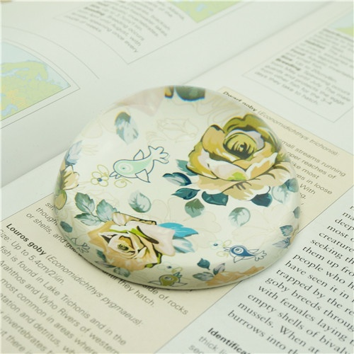 Vintage Floral Paperweights/Warm Gifts for Mother's Day