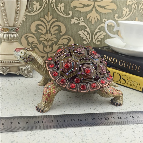 Metal Jewelry Box/Turtle Series Jewel Box