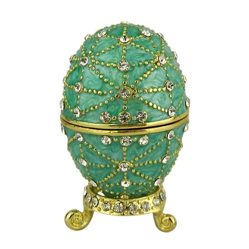 Trinket box russian traditions of faberge