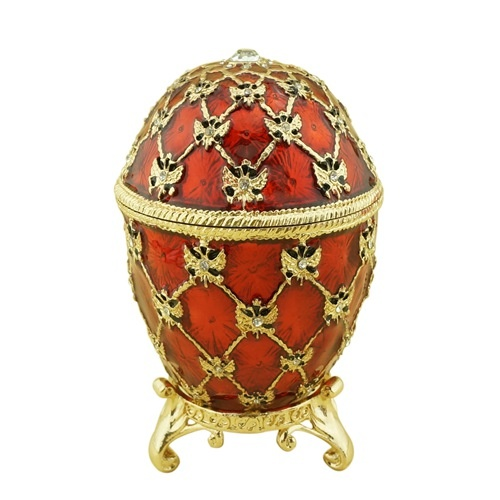 Russian faberge egg/Music box