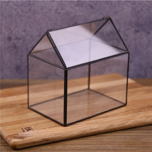 China direct -factory wholesale Garden Home wedding centerpieces decoration Cheap stained glass geometric terrarium