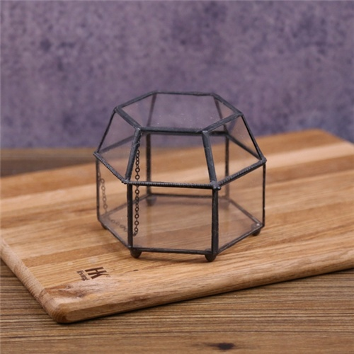 NEW 2017 cheap plant holder glass terrarium geometric for home decoration