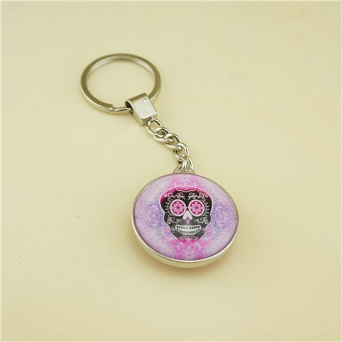 Glass Key Chain / Promotional Gifts Key Chain